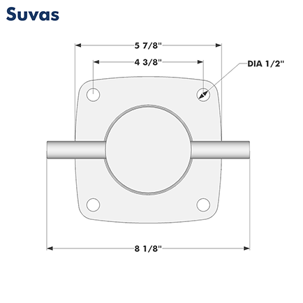 Suvas Dimensions (Top)
